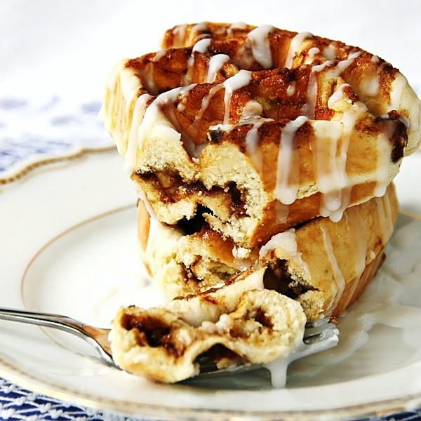 Be Different...Act Normal: Waffled Cinnamon Rolls