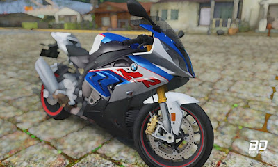 Download mod moto BMW S1000RR 2018 para GTA San Andreas, GTA SA PC