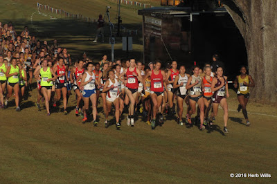 2016 NCAA-D1 South Region women's 6K