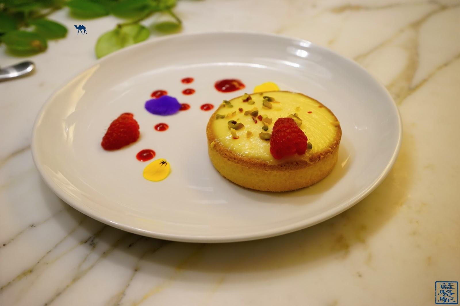 Le Chameau Bleu - Blog Gastronomie Restaurant Noglu Marais Paris - NoGlu Paris - Tartelette au citron