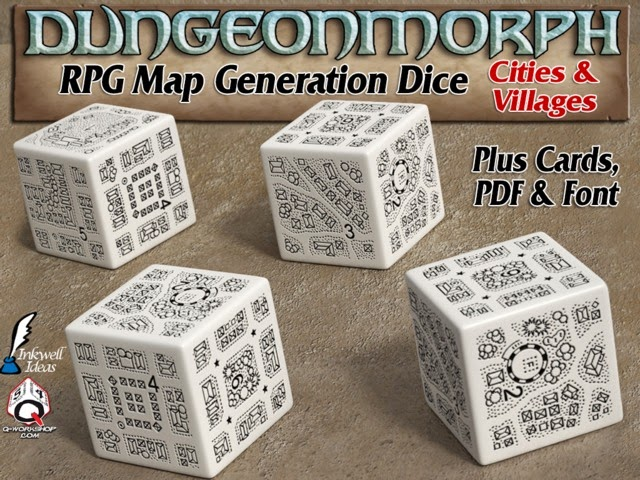 Dungeonmorphs 2: Cities and Villages