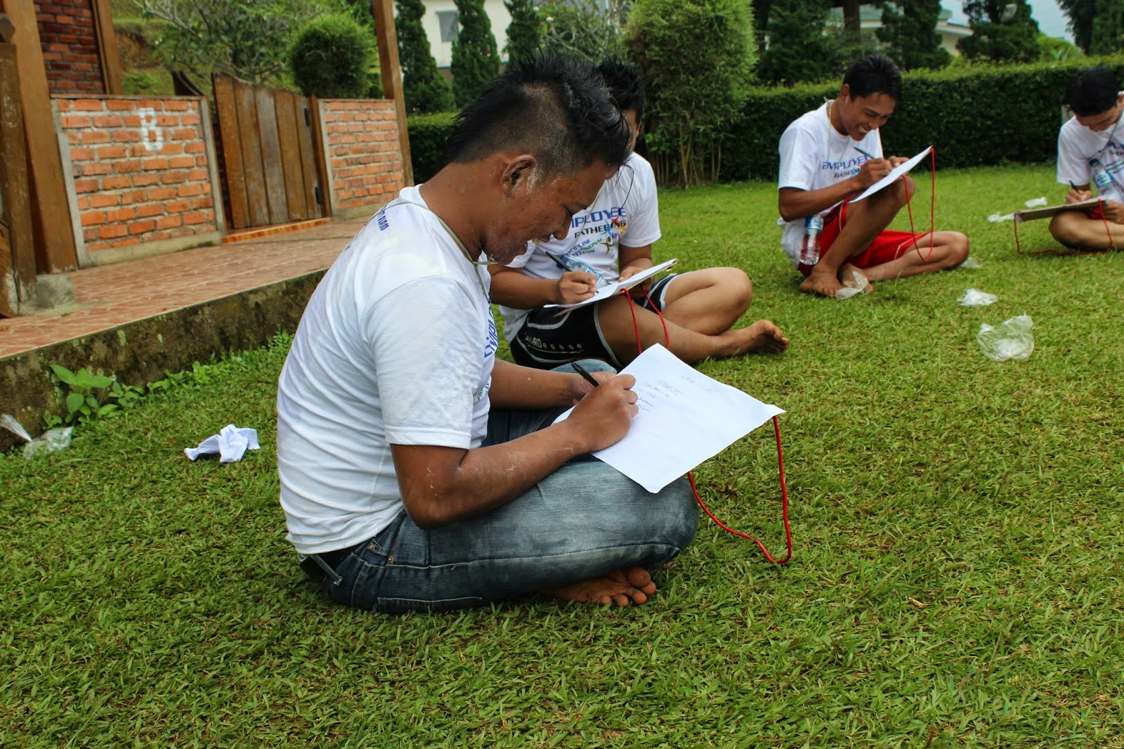 outbound training di villa pancawati