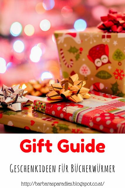 Gift Guide Geschenkideen für Bücherwürmer