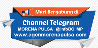 Channel Telegram Resmi Server Morena Pulsa