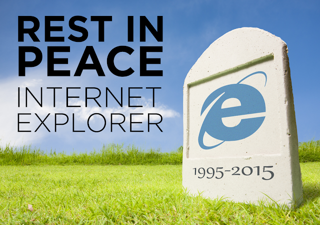 Rest in Peace Internet Explorer