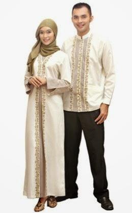gambar baju couple muslim yang sederhana dan nyaman