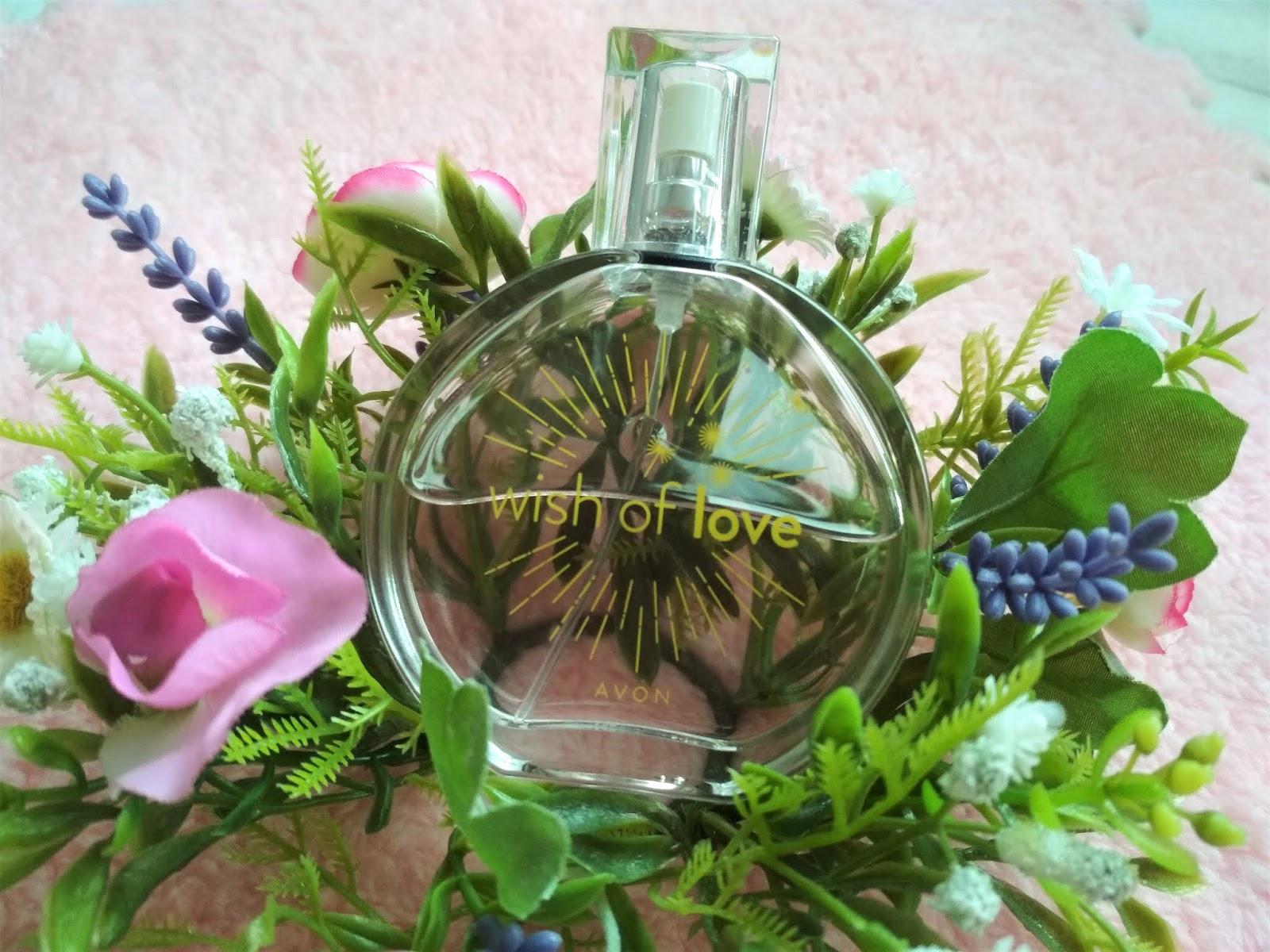AVON Woda toaletowa Wish Of Love, Nowości kosmetyczne (i nie tylko) marca 2019, avon perfumy, avon, zamówienie avon