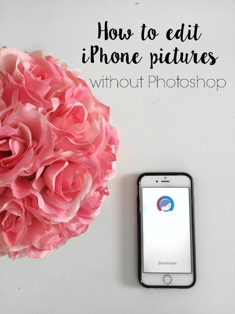How to edit blog and instagram pictures to make a white theme: whiten and brighten iPhone pictures without photoshop.