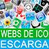 Tops de las mejores paginas para descargar Iconos | ICO | PNG