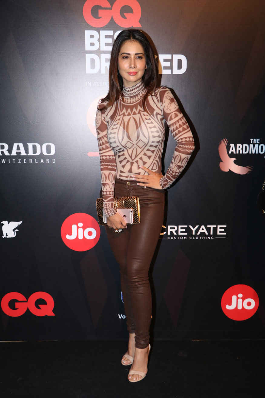 Swara Bhaskar and Kim Sharma Attends The GQ Best Dressed Awards Event at JW Marriott Hotel