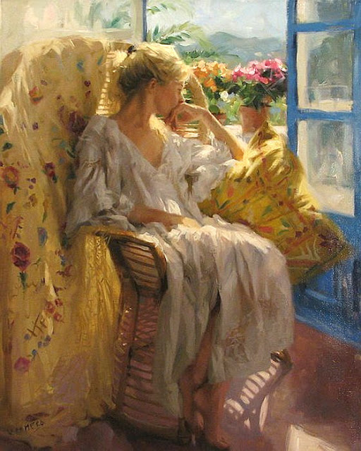 Spanish Figurative Painter | Vicente Romero Redondo 1956
