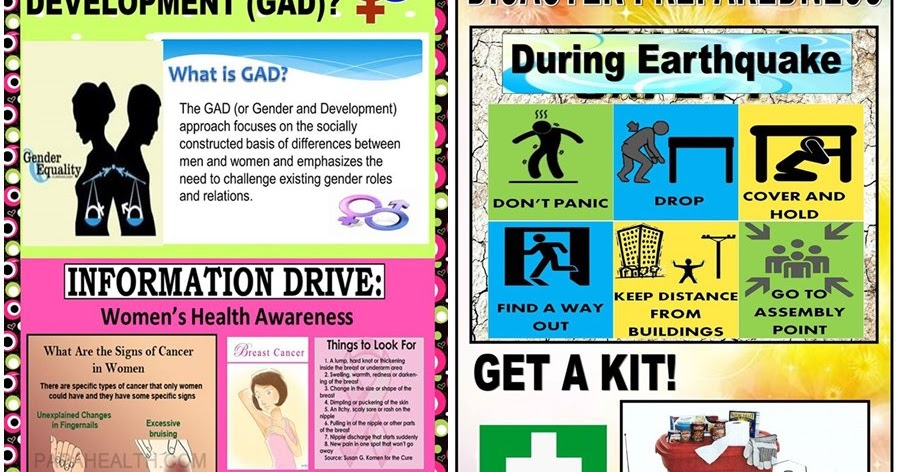 High quality posters for gad drrm and ndep corner deped tambayan ph altavistaventures