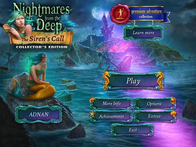 AB Official Site: Nightmares from the Deep 2: The Siren's