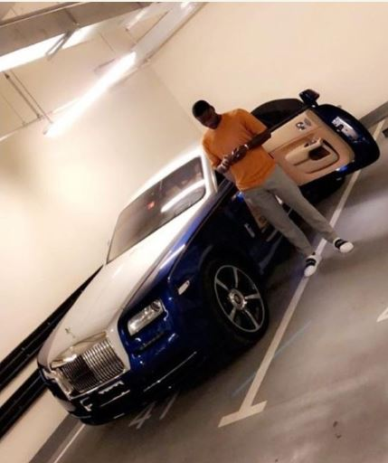 Chinese Club Player, Brown Ideye Acquires 2018 Rolls Royce For His Birthday
