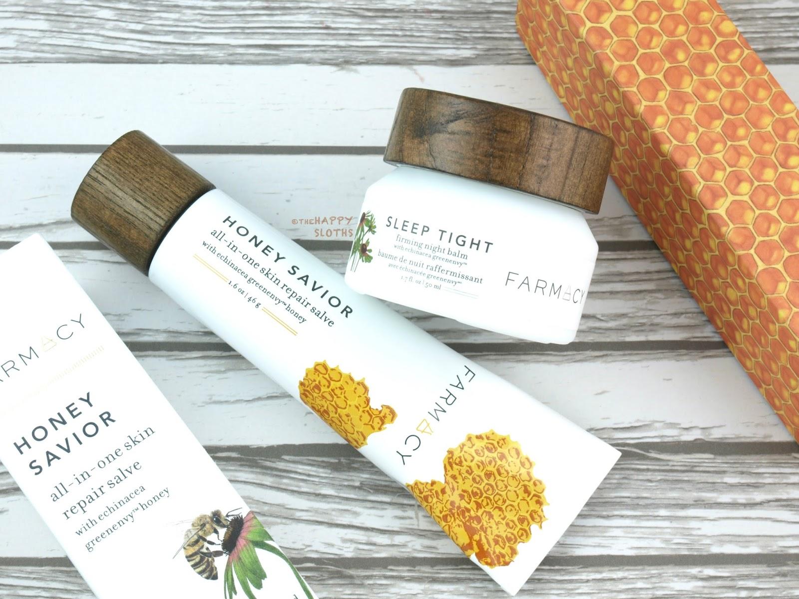 Farmacy Sleep Tight Firming Night Balm & Honey Savior All-In-One Skin Repair Salve: Review