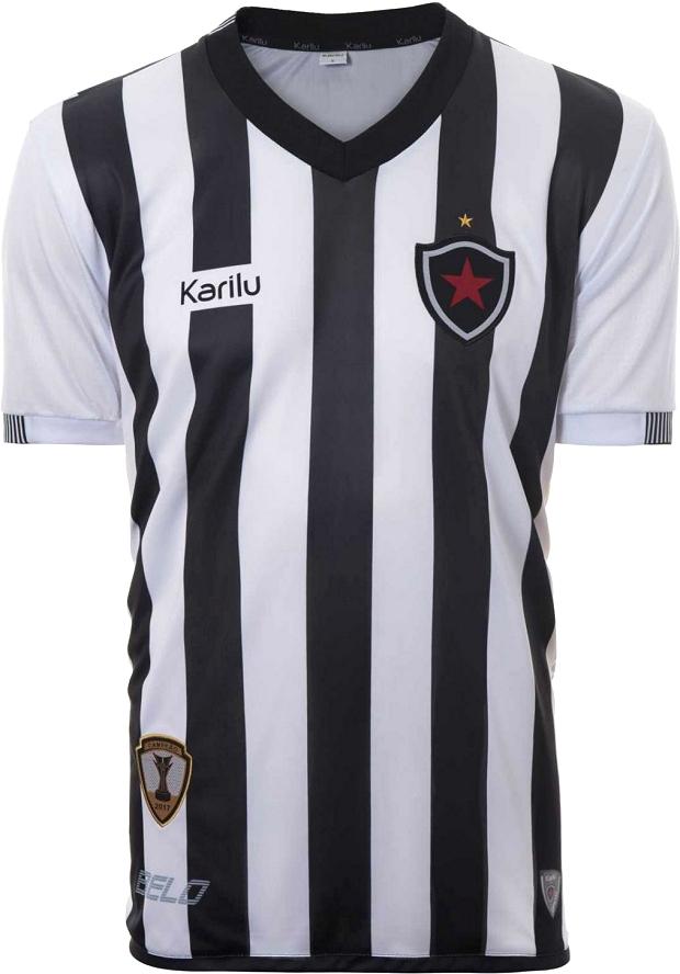 Karilu divulga as novas camisas do Botafogo da Paraíba - Show de Camisas 242fd804be1a3