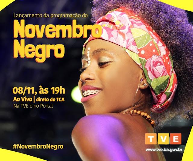 Novembro Negro ao vivo na TVE Bahia