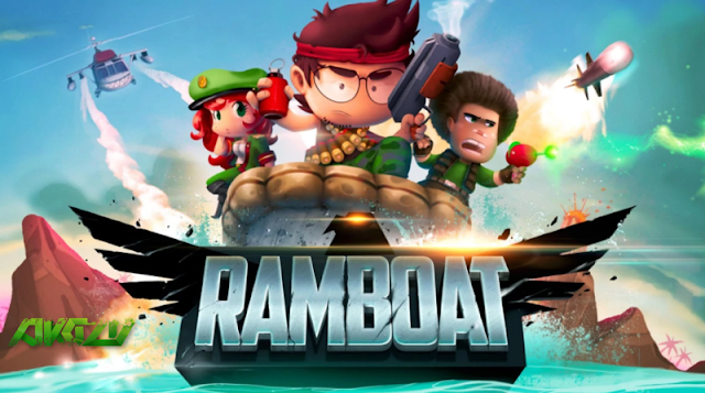 Download Ramboat Shoot and Dash Mod Apk (Unlimited Gold/Gems)