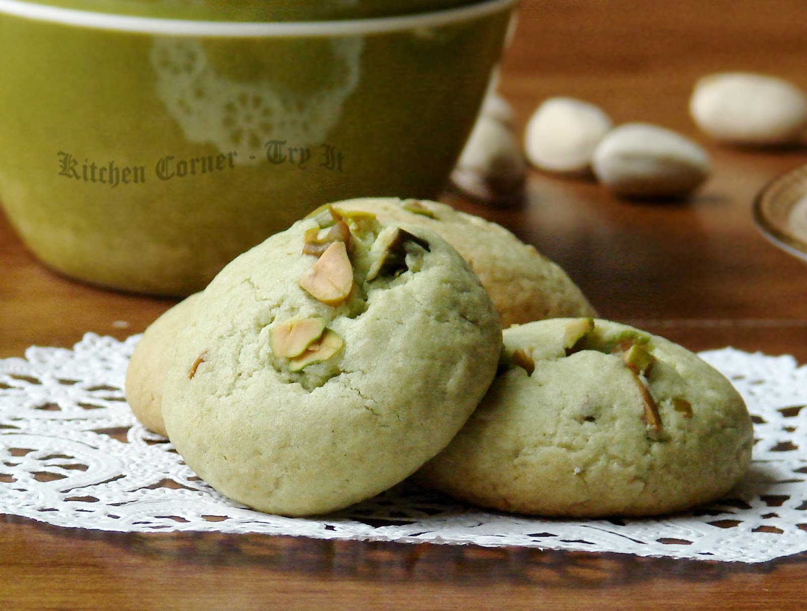Pistachio Green Kitchen Cabinets