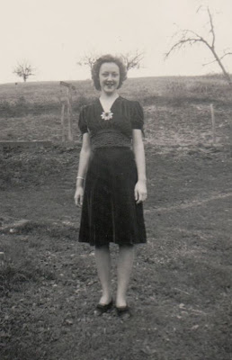 Yonnie Virginia Mathias Cook about 1940