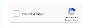"""Verifikasi Captcha """"Saya bukan Robot"""" ?"""