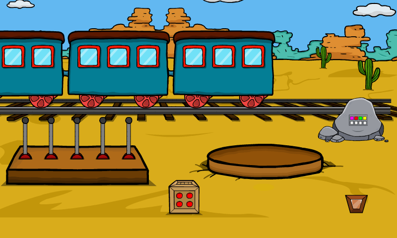 Desert Train Escape Walkt…