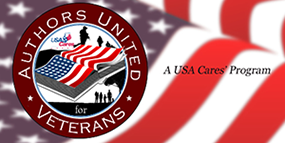 Authors United for Veterans banner