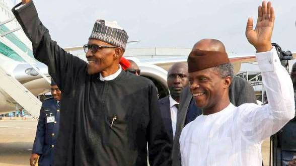 Buhari and Osinbajo thank Nigerians for their re-election