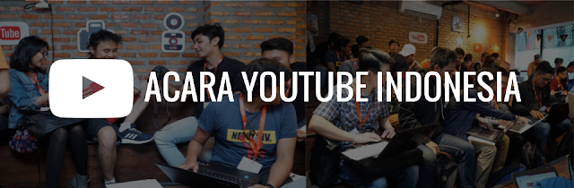 Acara event Youtube