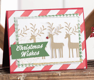 Stampin' Up! Merry Mistletoe Christmas Card Ideas ~ 2017-2018 Annual Catalog