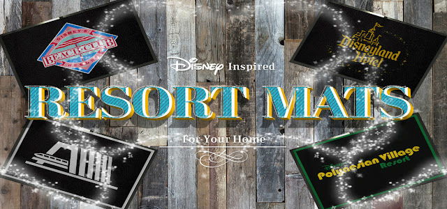 http://www.disneyavenue.com/2017/09/disney-inspired-resort-mats-for-your.html