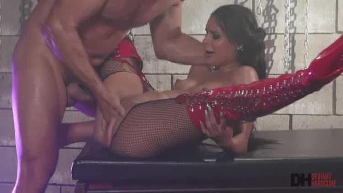 Katya Rodriguez in Submissive Latina Katya squirts like a fountain - Deviant Hardcore