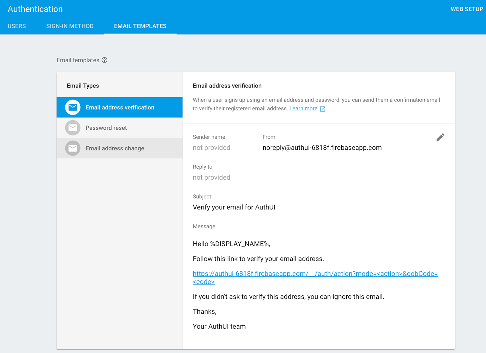 The Firebase Blog Email Verification In Firebase Auth