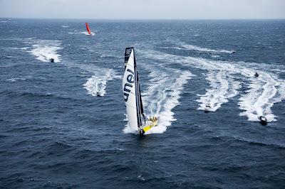 Brunel vainqueur à Göteborg sur la Volvo Ocean Race