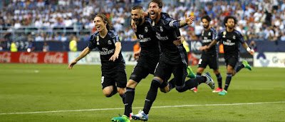 Real Madrid wins LaLiga Title 2016-2017