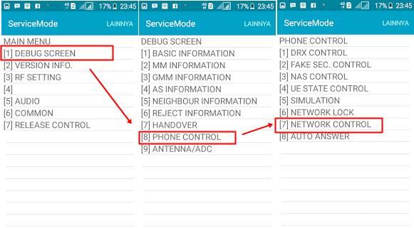 Cara menetapkan jaringan 4g samsung j3 [Lock Sinyal 4G LTE Praktis