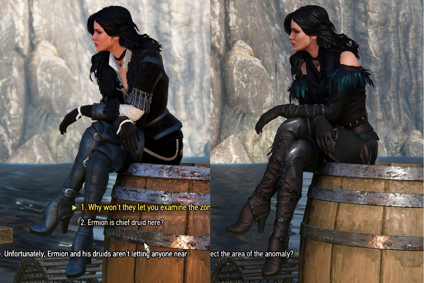 End Of The World As We Know It The Witcher 3 Yennefer Dlc Alternate Outfit Cosplay Help