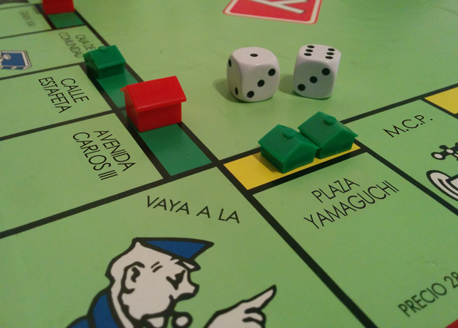 Tablero del Monopoly Pamplona