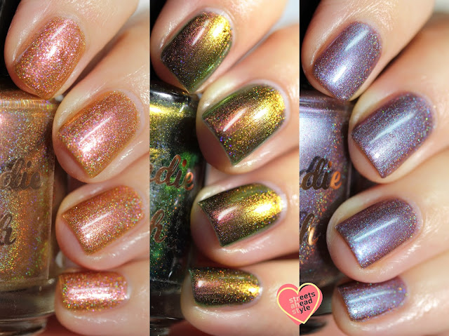 My Indie Polish Multichrome Trio swatches by Streets Ahead Style