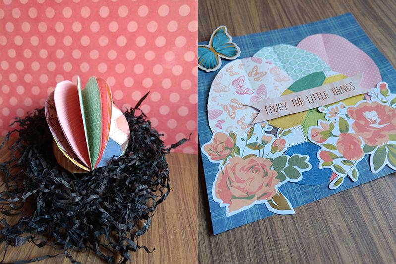 3 ideas craft con papel y huevos de pascua