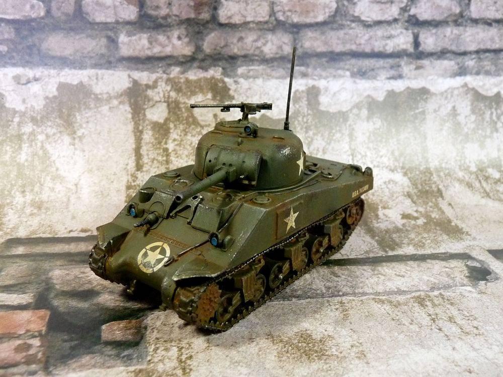 Demi Morgana - hobby log: Upgrading Sherman with Calliope set