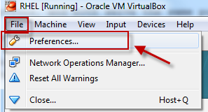How to configure different types of network in Oracle