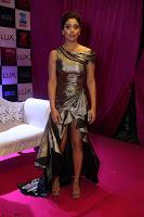 Shreya Saran in Skin Tight Golden Gown ~  Exclusive 020.JPG