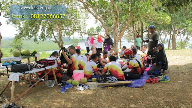 Pulau Air Raja wisata Gowes Sepeda di Batam