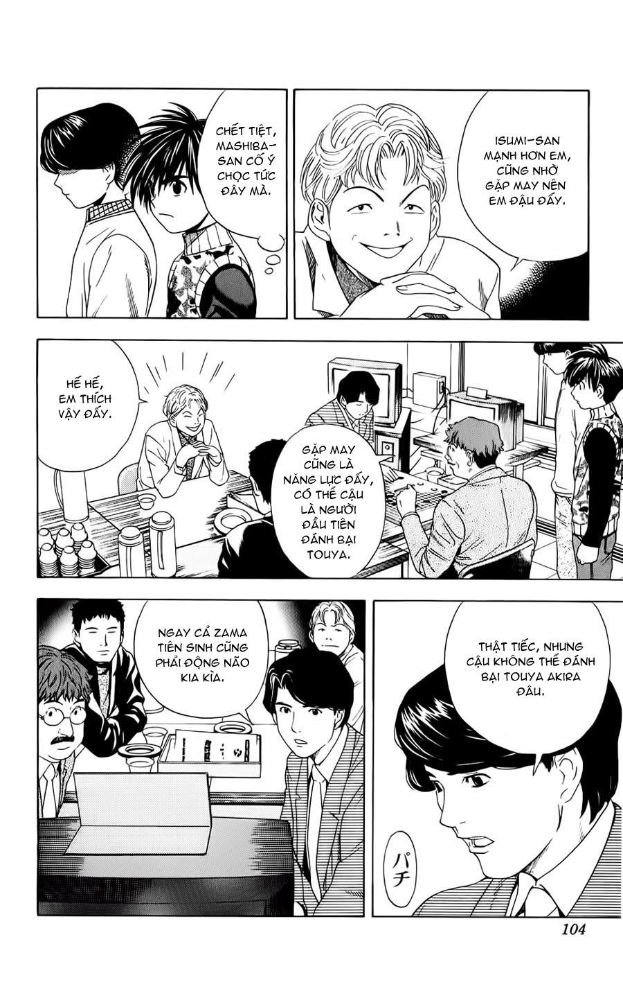 Hikaru No Go hikaru no go chap 48 trang 14