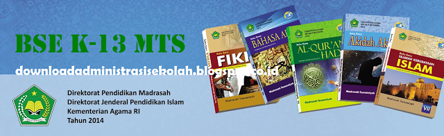 Buku Bahasa Arab MTs Kelas 7 Kurikulum 2013 PDF (Guru dan Siswa)