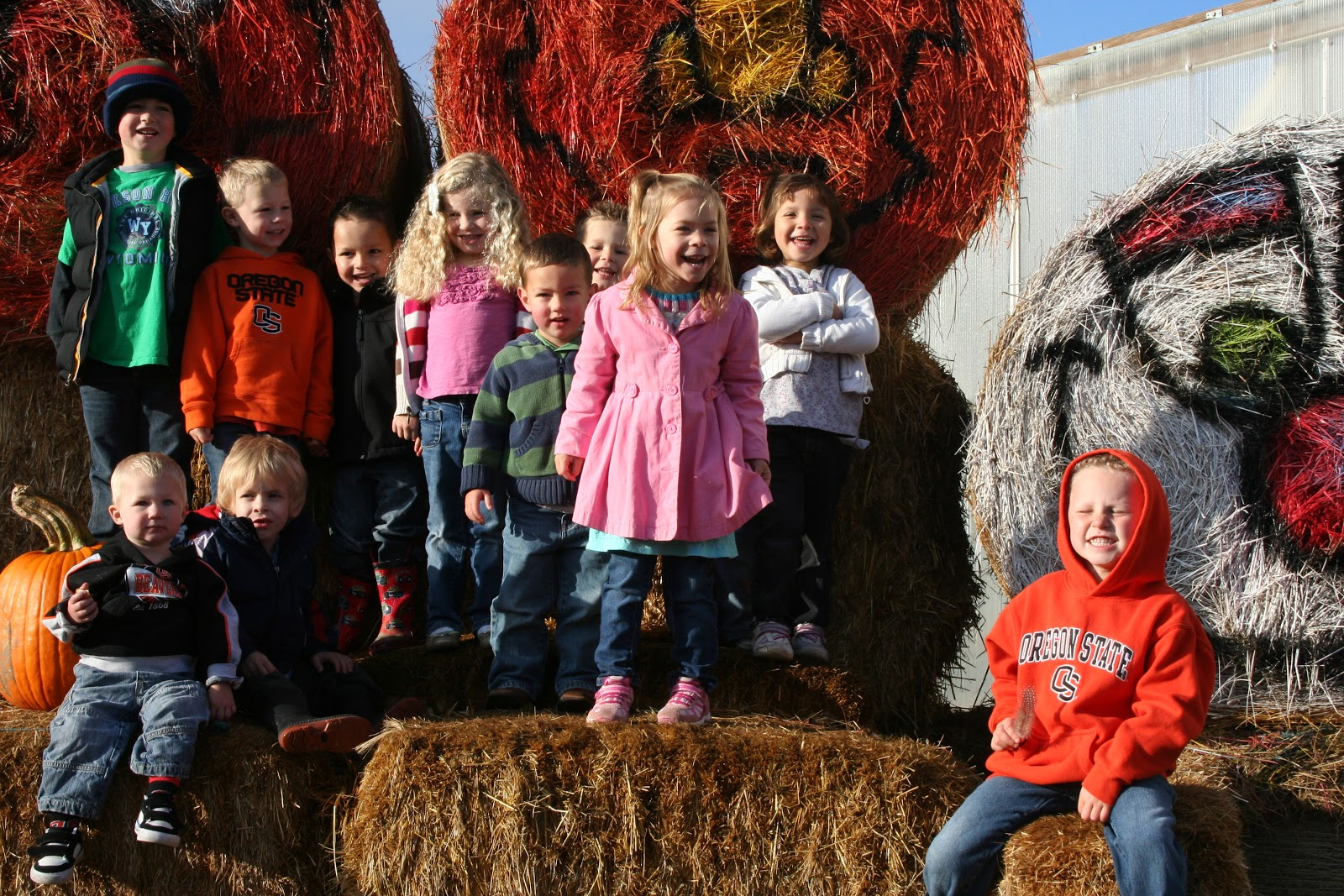 The Grimmett S Preschool Pumpkin Patch Field Trip