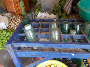 "Vintage ""MARBLE SODA BOTTLES"" found only in villages in India."