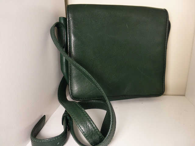 Green Neiman Marcus bag