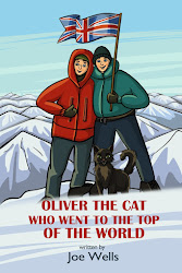 Oliver the cat who went to the top of the world.